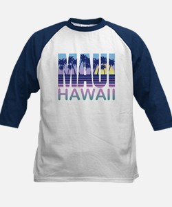 Maui Hawaii Kids Baseball Jersey