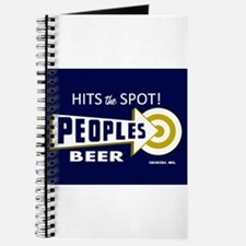 Peoples Beer Rectangle label Journal
