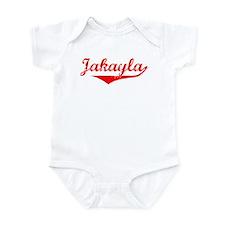 Jakayla Vintage (Red) Infant Bodysuit