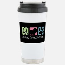 Cute I love my golden retriever Travel Mug