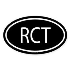 RCT Oval Decal