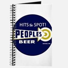 Peoples Beer Round label Journal