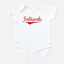 Jaliyah Vintage (Red) Infant Bodysuit