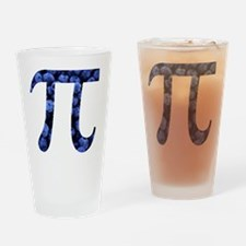 Funny Math pie Drinking Glass