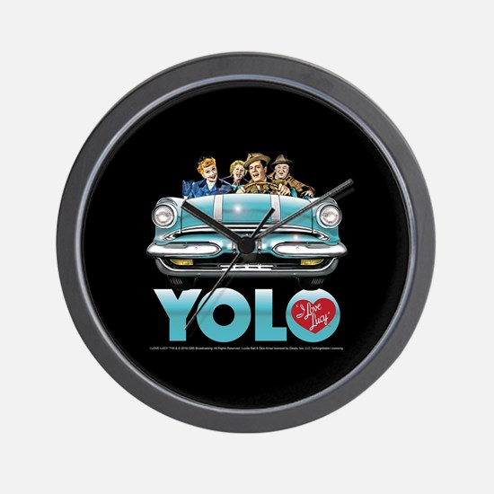 I Love Lucy: YOLO Wall Clock