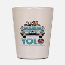 I Love Lucy: YOLO Shot Glass