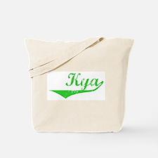 Kya Vintage (Green) Tote Bag