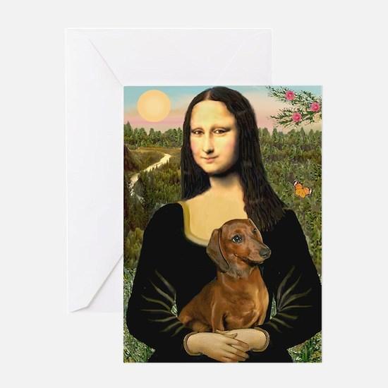 Mona's Dachshund Greeting Cards