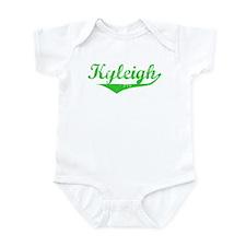 Kyleigh Vintage (Green) Infant Bodysuit