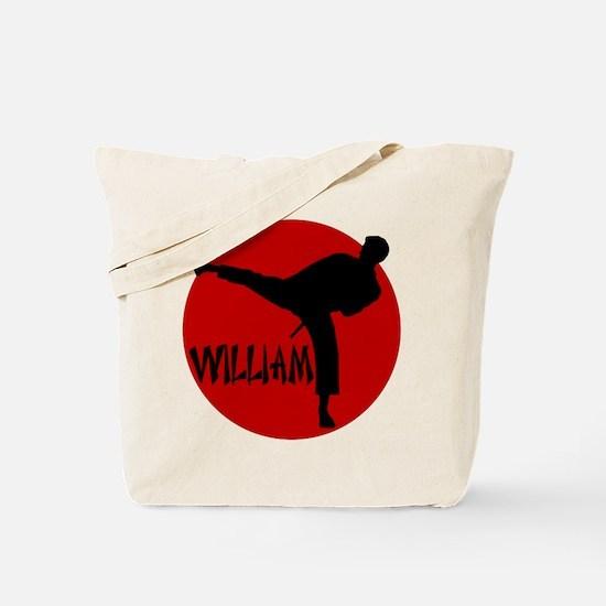 William Karate Tote Bag