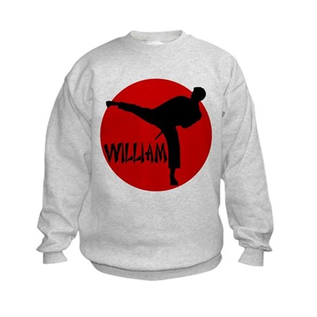 William Karate Kids Sweatshirt