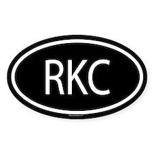 RKC Oval Decal
