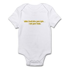 I see your fundi Infant Bodysuit