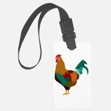 Rooster Art Luggage Tag