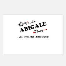 Unique Abigale Postcards (Package of 8)