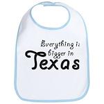 Bigger In Texas Bib