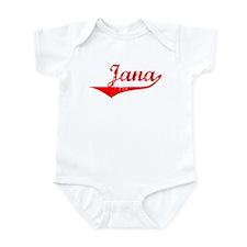 Jana Vintage (Red) Onesie