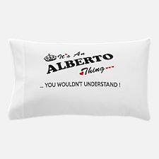Cute Alberto Pillow Case