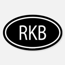 RKB Oval Decal