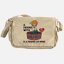 I Love Lucy: Wine Friend Messenger Bag