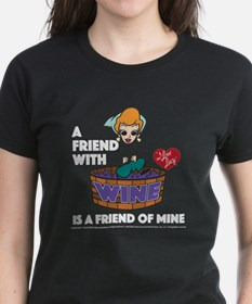 I Love Lucy: Wine Friend Tee