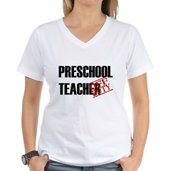 Off Duty Preschool Teacher Shirt