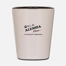 Unique Aleshia Shot Glass