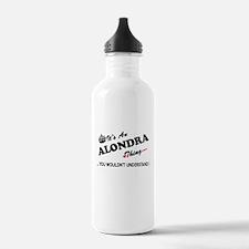Cute Alondra Sports Water Bottle