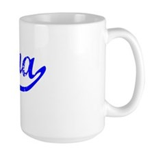Lena Vintage (Blue) Mug