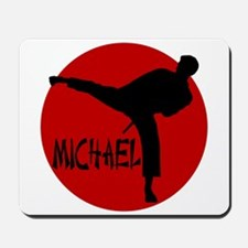 Michael Karate Mousepad