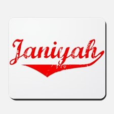 Janiyah Vintage (Red) Mousepad
