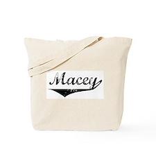 Macey Vintage (Black) Tote Bag