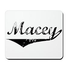 Macey Vintage (Black) Mousepad