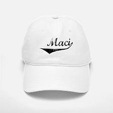 Maci Vintage (Black) Baseball Baseball Cap