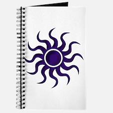 Purple Starburst Journal