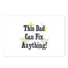 This Dad Can Fix Anything! Postcards (Package of 8