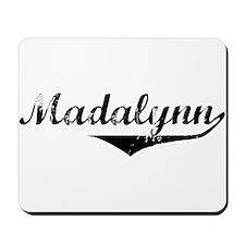 Madalynn Vintage (Black) Mousepad