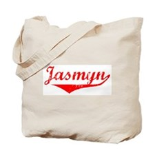 Jasmyn Vintage (Red) Tote Bag