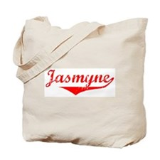 Jasmyne Vintage (Red) Tote Bag