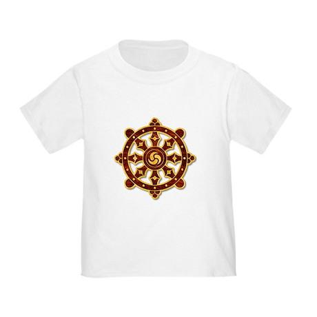 Dharma Wheel 2 Toddler T-Shirt