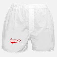 Jaycee Vintage (Red) Boxer Shorts