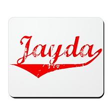 Jayda Vintage (Red) Mousepad