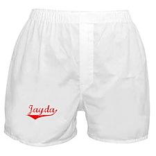 Jayda Vintage (Red) Boxer Shorts
