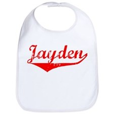 Jayden Vintage (Red) Bib