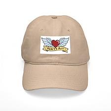 Heart's Art Baseball Cap