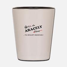 Cool Aracely Shot Glass