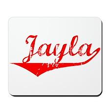 Jayla Vintage (Red) Mousepad