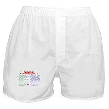Shiba Inu Property Laws 2 Boxer Shorts
