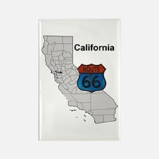 California Route 66 Rectangle Magnet Magnets