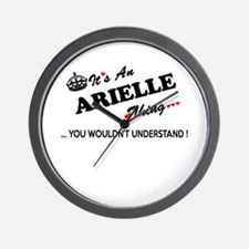 Cute Arielle Wall Clock